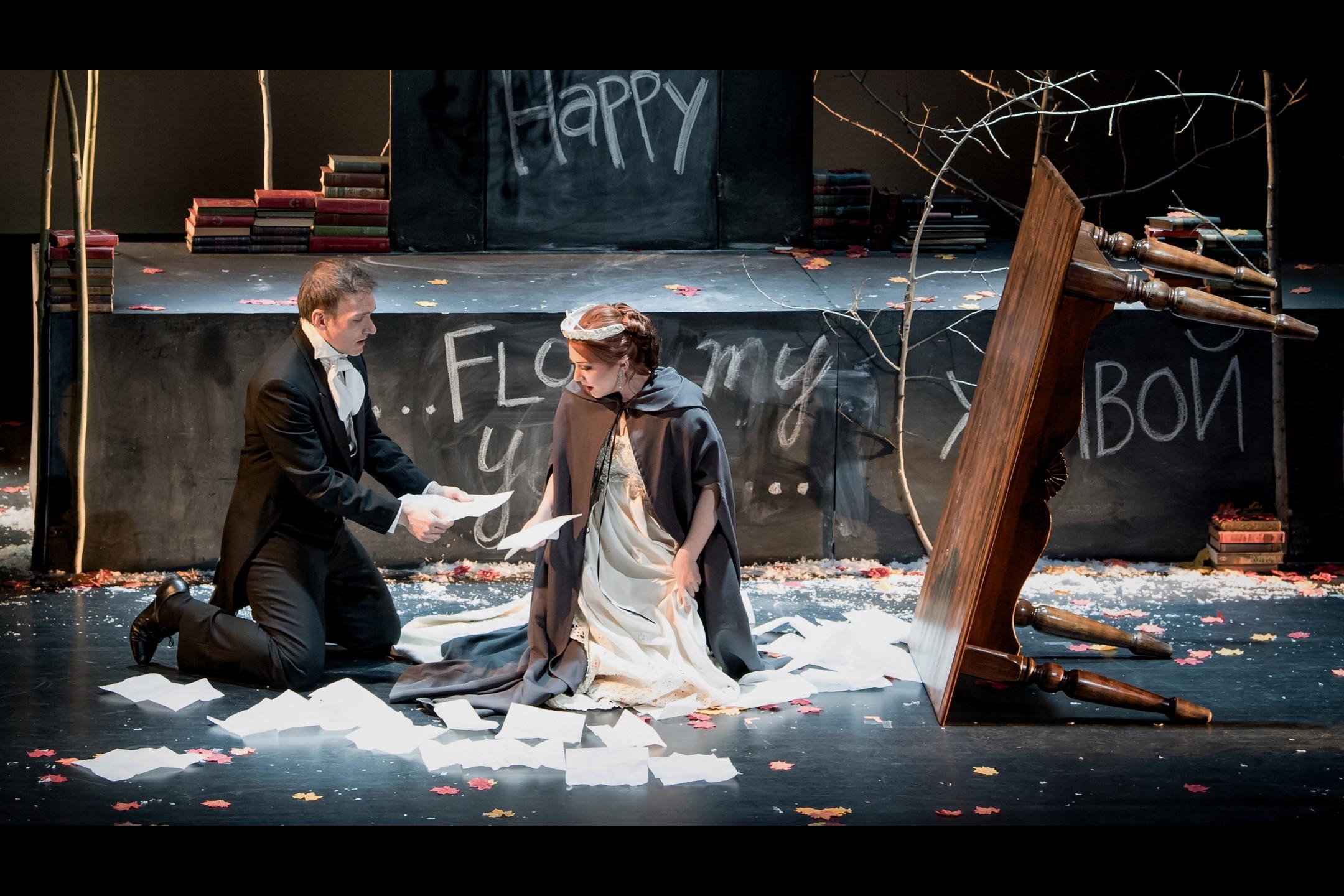 Tatiyana & Lensky from Intermountain Opera's Eugene Onegin